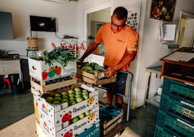 Obst und Gemüse auf Sylt